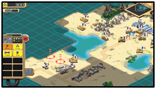 Retro Commander: Real-Time Strategy Game
